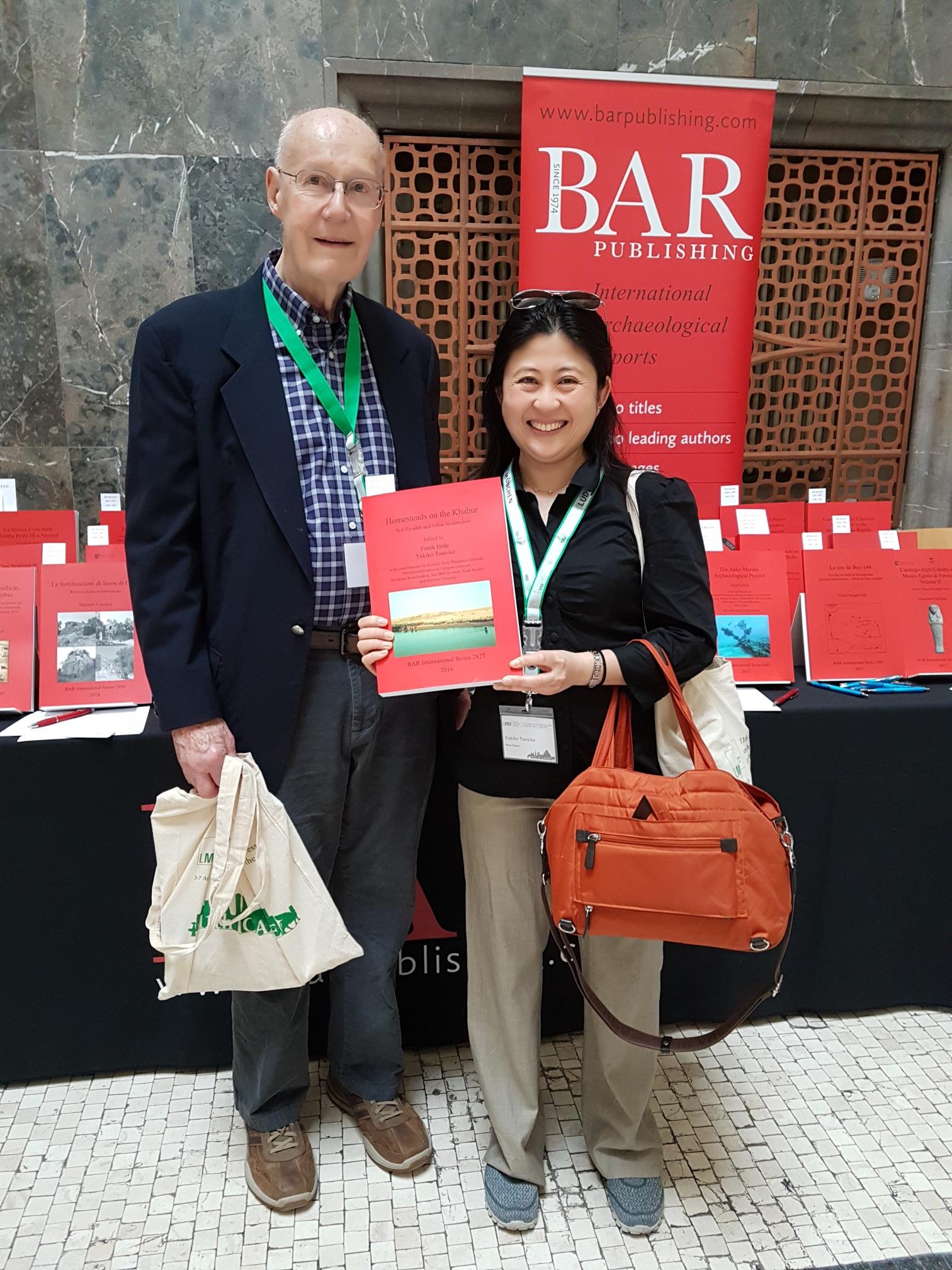 Frank Hole and Yukiko Tonoike, BAR S2827